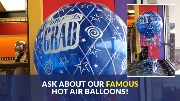 Hot Air Graduation Balloons