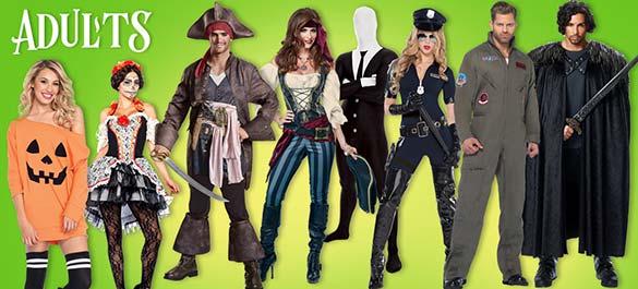 Halloween Costumes - Adults
