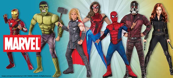 Halloween Costumes - Marvel