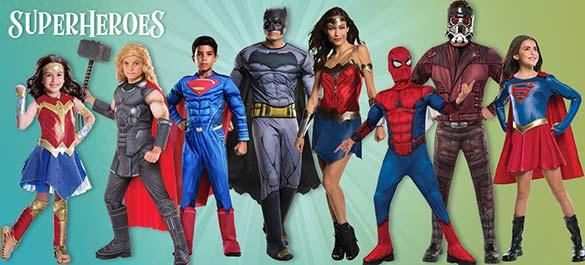 Halloween Costumes - Super Heroes