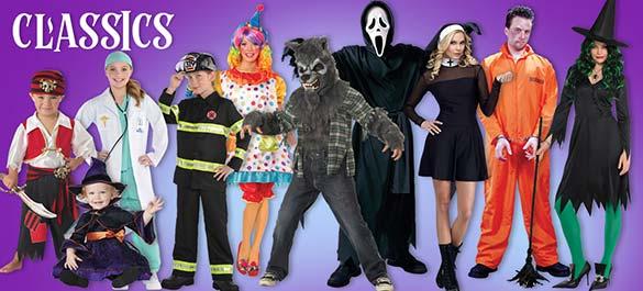 Halloween Costumes - Classics